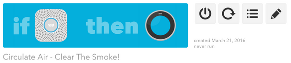 Clear a room with IFTTT + NEST
